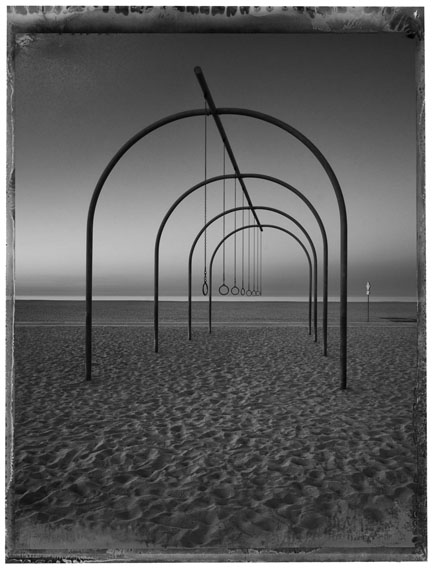 Christopher Thomas: Los Angeles, Sant Monica Beach, Santa Monica, 2017© Christopher Thomas