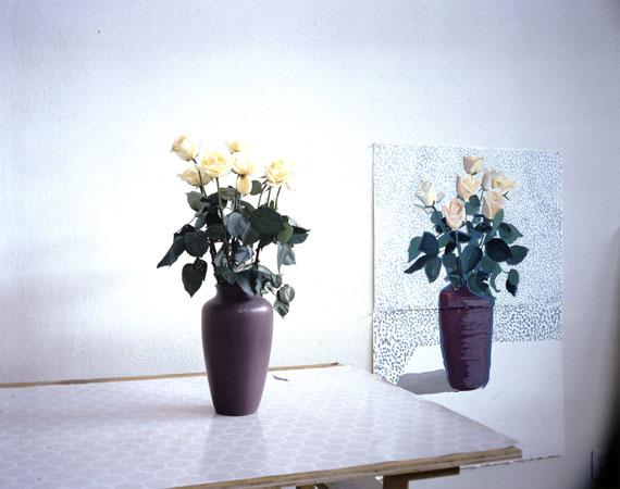 "David Hockney: ""Roses for Mother"", December 4th 1995, 1995DZ BANK Kunstsammlung im Städel Museum"