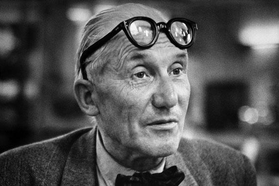© René Groebli, Le Corbusier, #286, 1954 / Courtesy Johanna Breede PHOTOKUNST