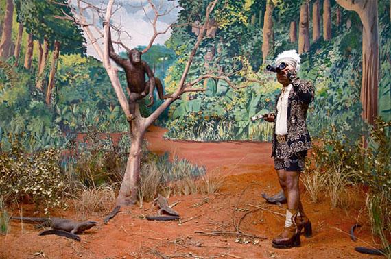 Kiluanji Kia HendaThe Last Journey of the Dictator Mussunda N'zombo Before the Great Extinction (Act II)2017GOODMAN GALLERY