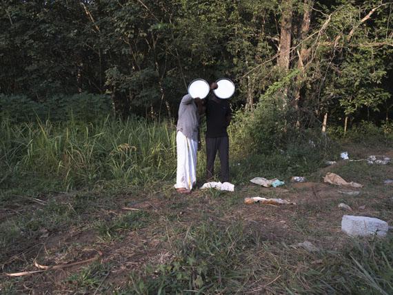 """Sabine Schründer: aus """"Pavilion"""", Projektion, 2017"""