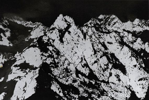 Balthasar BurkhardBerge, 1992-1993Silbergelatineabzug, 2-teilig, je 135 x 152 cmGalerie Sfeir-Semler, Hamburg© Estate Balthasar Burkhard, 2017