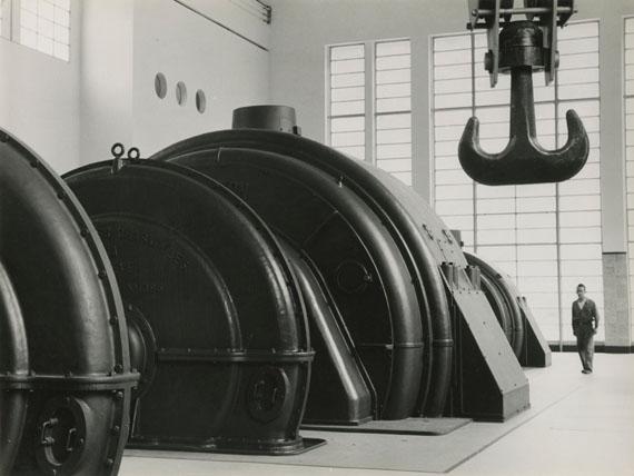 Power Station La Grande Dixence, 1942. Kraftwerk Grande Dixence, 1942. © Jakob Tuggener-Stiftung