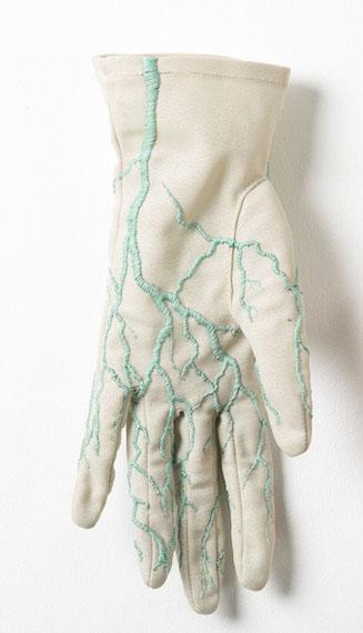 Contructal Glove Left, 2017.  © Juana Gómez, courtesy Isabel Croxatto Galería