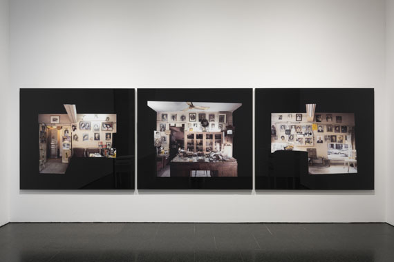 Akram Zaatari: Objects of Study / Studio Shehrazade - Reception Space, 2006