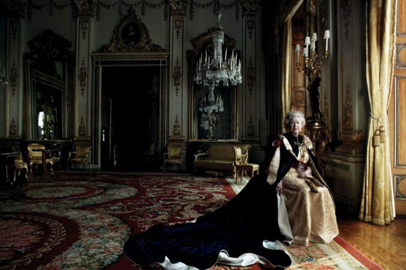 Queen Elizabeth II, Buckingham Palace, London, 2007