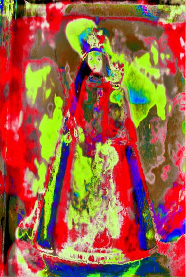 Annelies ŠtrbaMadonna 001, 2017Pigment print on canvas , 150 x 100 cm © Annelies Štrba