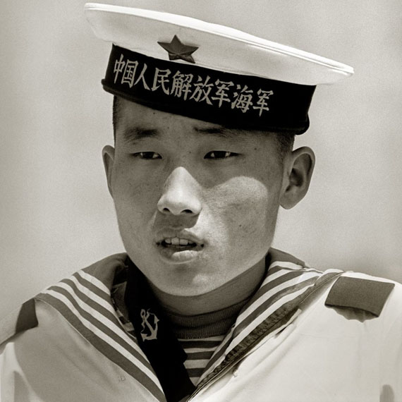 Sailor, Monument to the People's Heroes, Beijing, 1979 ©  Albert Watson