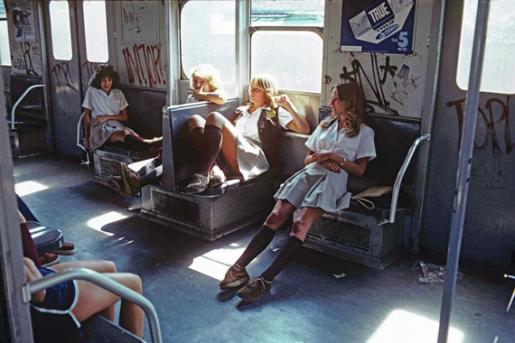 Willy Spiller: A Train to Far Rockaway, New York, 1978, Archival Pigment Print, 80 x 110 cm, Edition 5 & 2 AP
