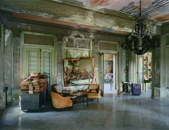 Robert Polidori, Señora Faxas Residence, Miramar, Havana, No. 1, 1997Courtesy Edwyn Houk Gallery