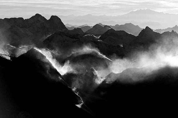Robert Bösch: Bergell, Engadin, Switzerland, 2009