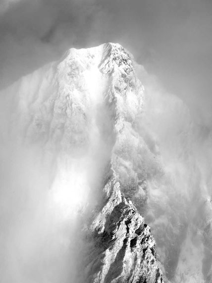 Robert Bösch: Piz Roseg west wall, Engadin, Switzerland, 2017