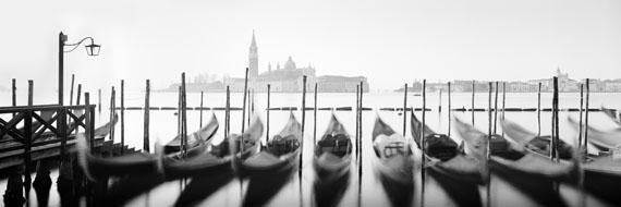 Twelve Gondolas, Venice 2014 © SILVERFINEART