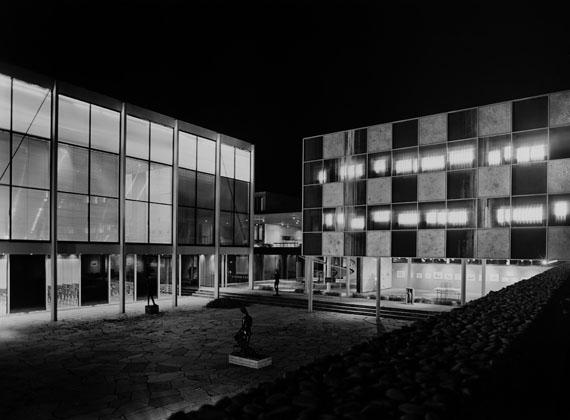 Sigrid Neubert: Manfred Lehmbruck, Reuchlinhaus, Pforzheim, 1961© Architekturmuseum der TU München