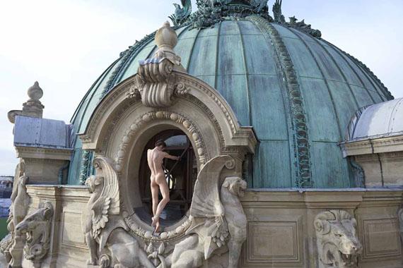 Sonia Sieff: Sur les toits de l'Opéra, Paris 2014 © Sonia Sieff + Courtesy IMMAGIS Galerie