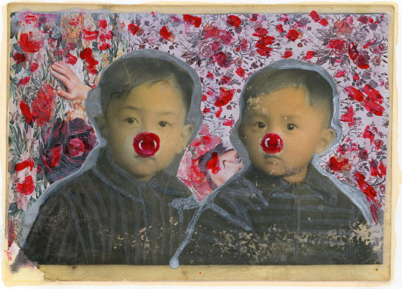 "Ficciones, ""Two Red Noses"" © Sun Yanchu, 2017