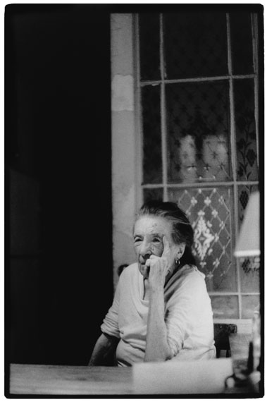 © Evelyn Richter, Porträt Louise Bourgeois, New York, 2003