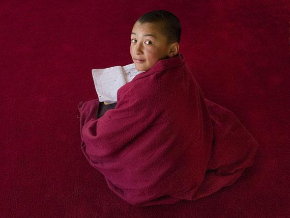 Beat Presser: Buddhistischer Mönch, Ladakh © Beat Presser