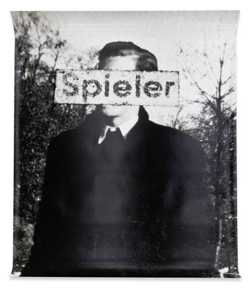 Astrid Klein: Spieler, 1979. FotoarbeitCourtesy Deichtorhallen Hamburg/Sammlung Falckenberg © Astrid Klein