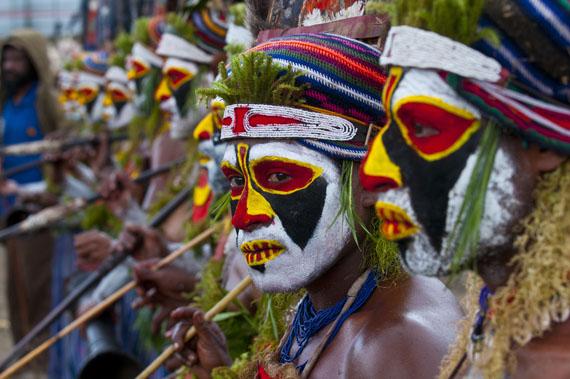 Sing Sing Fest, Enga, Papua Neuguinea © Michael Runkel