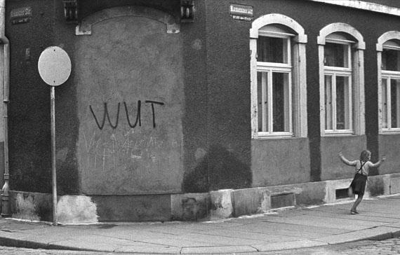 Harald Hauswald: Dresden-Neustadt, 1984 © Harald Hauswald/OSTKREUZ