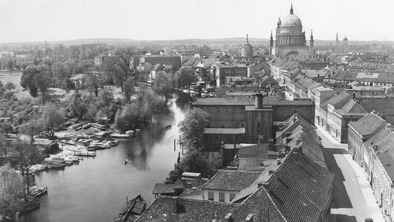 Max Baur: Panorama von der Heiligengeistkirche