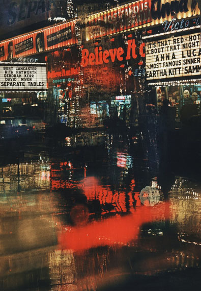 © Marvin Newman, Broadway, Believe It, 1958  | Courtesy of Howard Greenberg Gallery