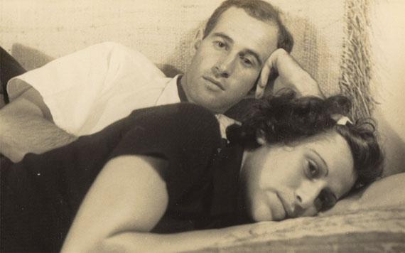 unknown, Judy und Gerhard Valentin, app. 1947