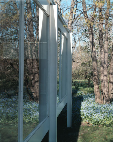 GUIDO GUIDI'Farnsworth House (Ludwig Mies van der Rohe), Plano, Illinois, 2000'2000Photograph; C-type print on paper24.5 x 19.5 cm© Guido GuidiCourtesy the artist and Large Glass, London