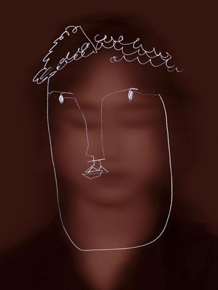 Kyungwoo ChunFace of Face 2, 2017Pigment-Print auf Aluminium, gerahmt140 x 115 cm, gerahmt: 145 x 120 x 5 cmEdition 5 + 2 AP