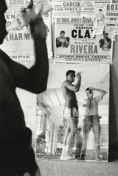 Marvin Newman: Cassius Clay (Muhammad Ali), 5th Street Gym, Miami, 1963Edition 4/10, Archival Pigment Print, 48 x 33 cm