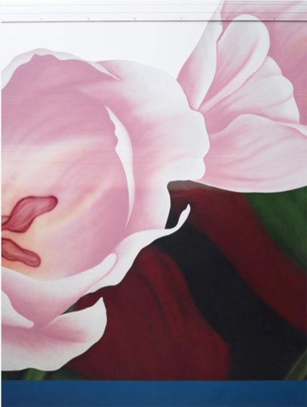 Trailer #1: Pink Tulip, 2016Lambda print on Luster paper, grey/white frame, museumglass156 x 119 cm / framed 159 x 122,5 cm8 + 1 AP© Scheltens & Abbenes