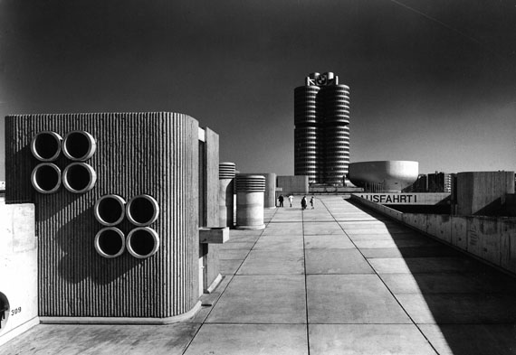 Sigrid Neubert: Gerd Wiegand, Olympiaparkhaus, München, 1972© Staatliche Museen zu Berlin, Kunstbibliothek / Sigrid Neubert