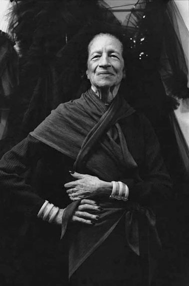 Alice Springs: Diana Vreeland, Paris 1983