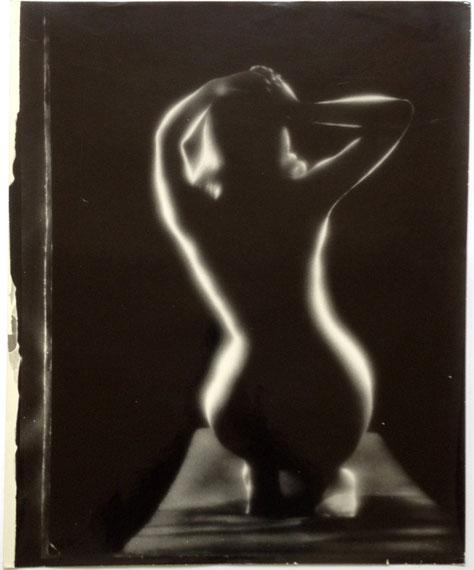 Janis GleizdsO.T. (Akte seiner Frau Annele)35mm Schwarz-Weiß Negativfilm, Silber Gelantine Handabzug, 43x59 in 60x80, 1970
