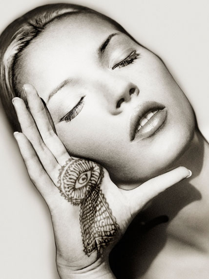 Albert Watson, 'Kate Moss, Sun and Henna, Marrakech', 1993,