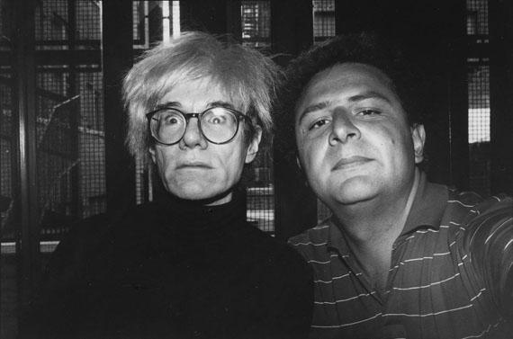 Jean PigozziAndy Warhol and ME, 1986© Jean Pigozzicourtesy IMMAGIS Galerie