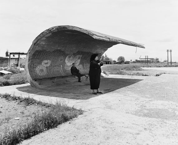 Ursula Schulz-DornburgEchiniadzin – Erevan (aus der Serie: Transit Orte, Armenien), 2002Bartyabzug, 44,7 x 34,8 cmStädel Museum, Frankfurt am Main© Ursula Schulz-Dornburg