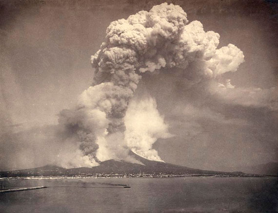 Giorgio Sommer: Mount Vesuvius, 1872 © Olbricht Collection, Photo Galerie Bassenge, Berlin