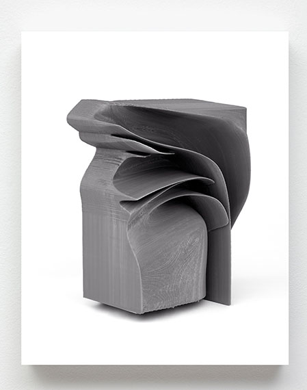 Michael Reisch: Ohne Titel (Untitled), 17/021, 2018 75 x 60 cm, UV-Direct-Print, Dilite
