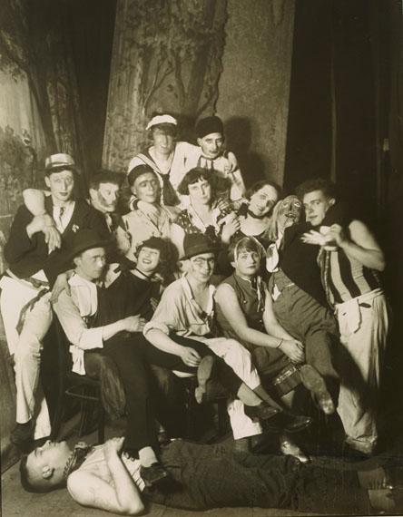 August Sander: Straßenmusikanten, 1922 [1922-1928]© Die Photographische Sammlung / SK Stiftung Kultur-August Sander Archiv, KölnVG Bild-Kunst, Bonn, 2018