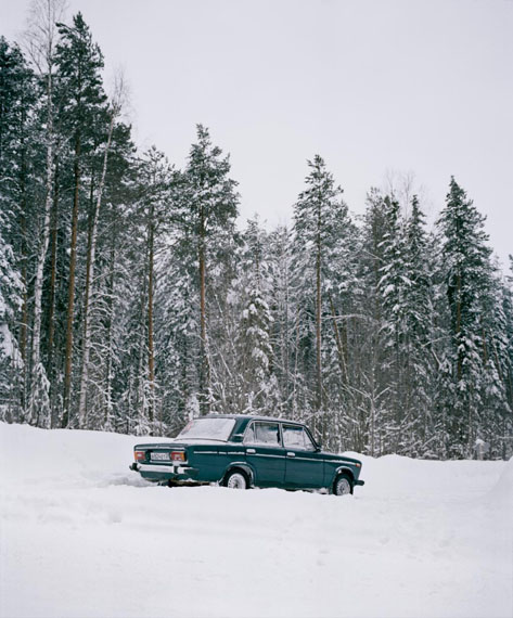 Genady's car, from the series Borealis, 2018 © Jeroen Toirkens/Kahmann Gallery