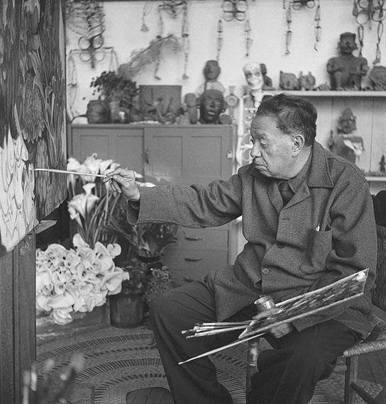 Diego Rivera, Mexiko, 1955 © Bernice Kolko/Sammlung Ariel Zuñiga