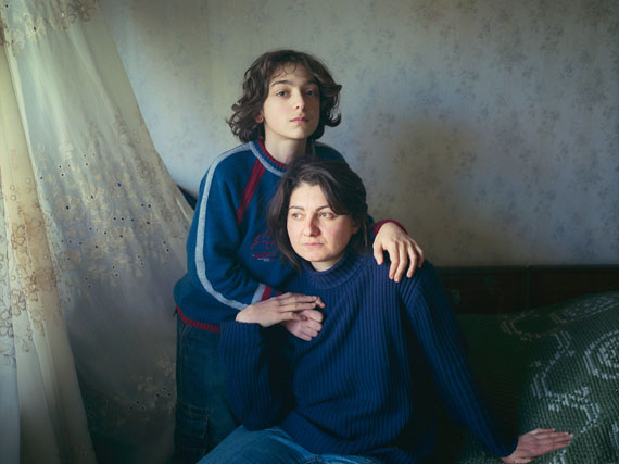 "Mako & Saba. From the series ""Tbilisi Portraits"", 2007