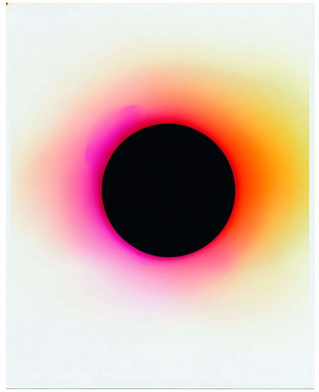 Nicolai Howalt, Wavelength 644 - o nanometer, from the series: Light Break, 2014–2017 . Courtesy the artist and Martin Asbæk Gallery, Copenhagen