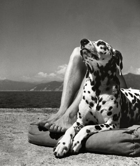 Herbert List: 'Herr und Hund', Portofino 1936 © Herbert List / Magnum Photos