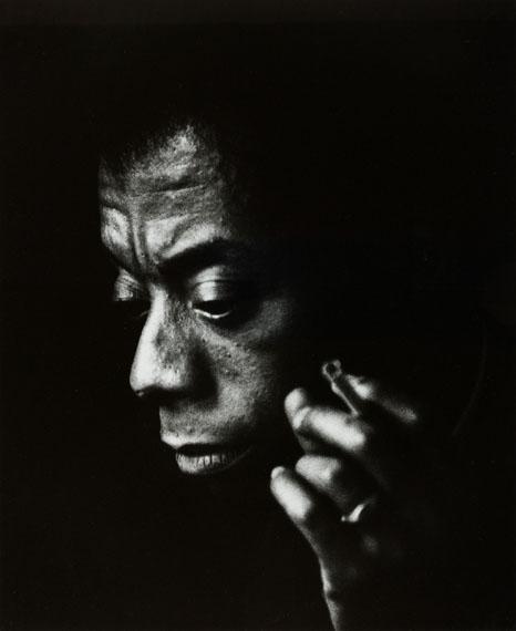 Maria Austria: Der amerikanische Schriftsteller James Baldwin, Amsterdam 1965© Maria Austria / Maria Austria Instituut