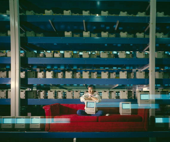 Horst Wackerbarth: Steve Jobs, Apple Computers, Cupertino, Fremont, California, USA, 