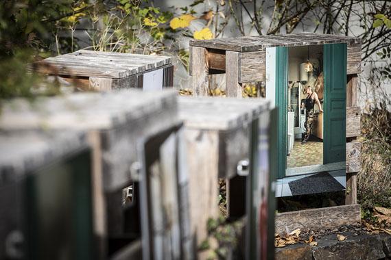 Installation view, Kati Bruder: Wir Anderen © photo by Laurent Antonelli et Michel Zavagno, Blitz Agency / CDI 2018
