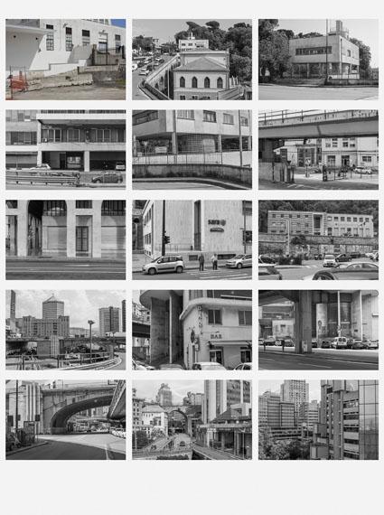 Eiko GrimbergNaples Genoaaus der Serie: Future HistoryPigmenttintenstrahldruck114 x 85 cm